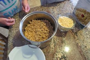 Adding Krispies